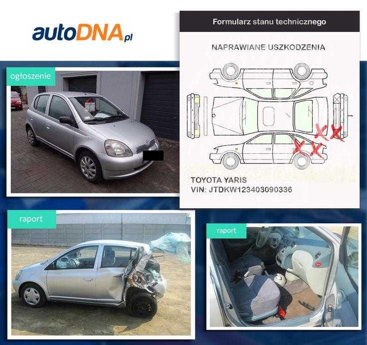 Baza #autoDNA - #UWAGA! #Toyota #Yaris https://www.autodna.pl/lp/JTDKW123403090336/auto/aebaddcc9523f2f4d92d90ad5a13d424eb4ea5cd https://www.otomoto.pl/oferta/toyota-yaris-1-3-benzyna-5-drzwi-klima-zarejestrowany-wazne-oplaty-ID6yMhyH.html