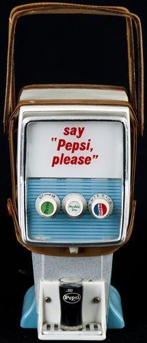 1950s Vintage Pepsi Novelty Transistor Radio CᎾĿĿƐcŦĪᎾИs