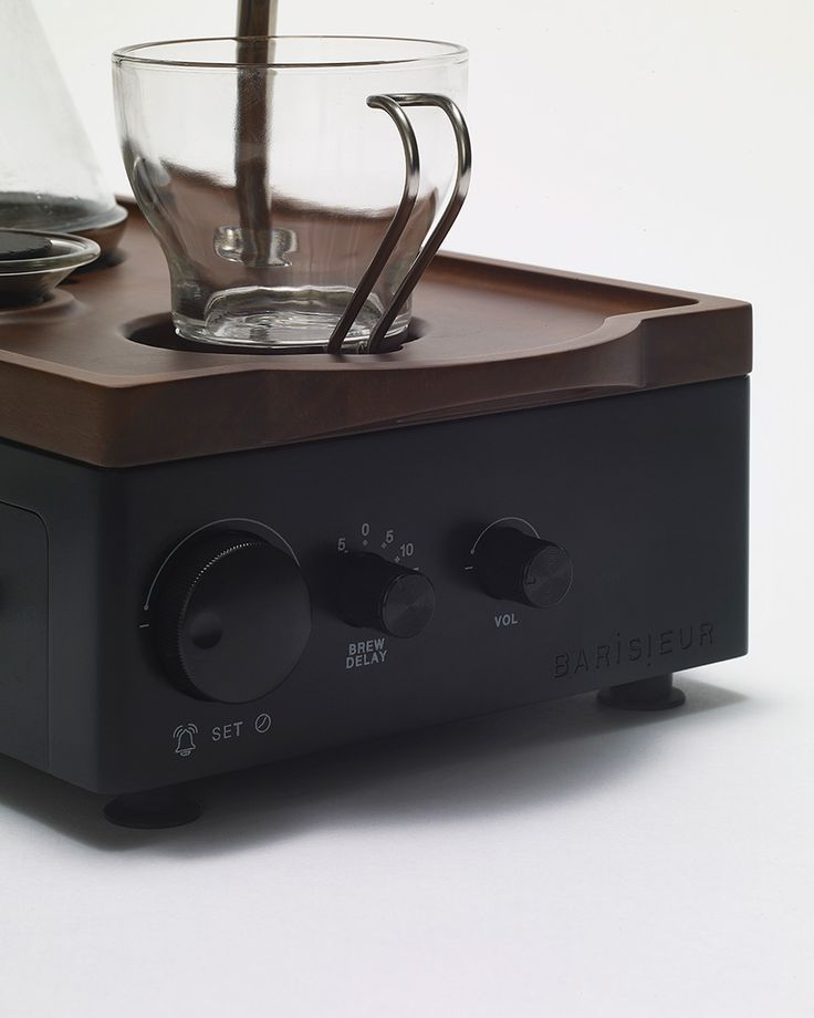 Barisieur the revolutionary coffee maker alarm clock