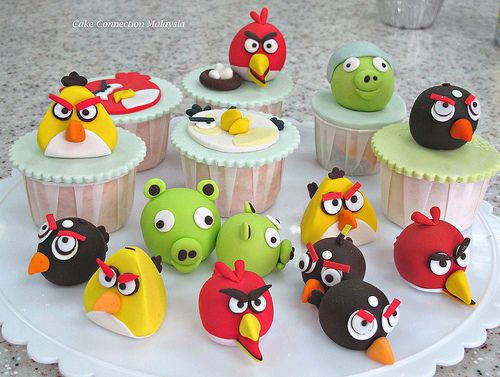 Toppers Personagens Angry Birds: 1000+ Ideas About Angry Birds Cupcakes On Pinterest