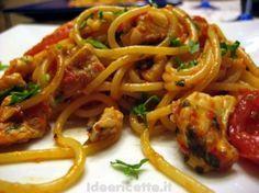 Ricetta Spaghetti al sugo di gallinella (di mare)