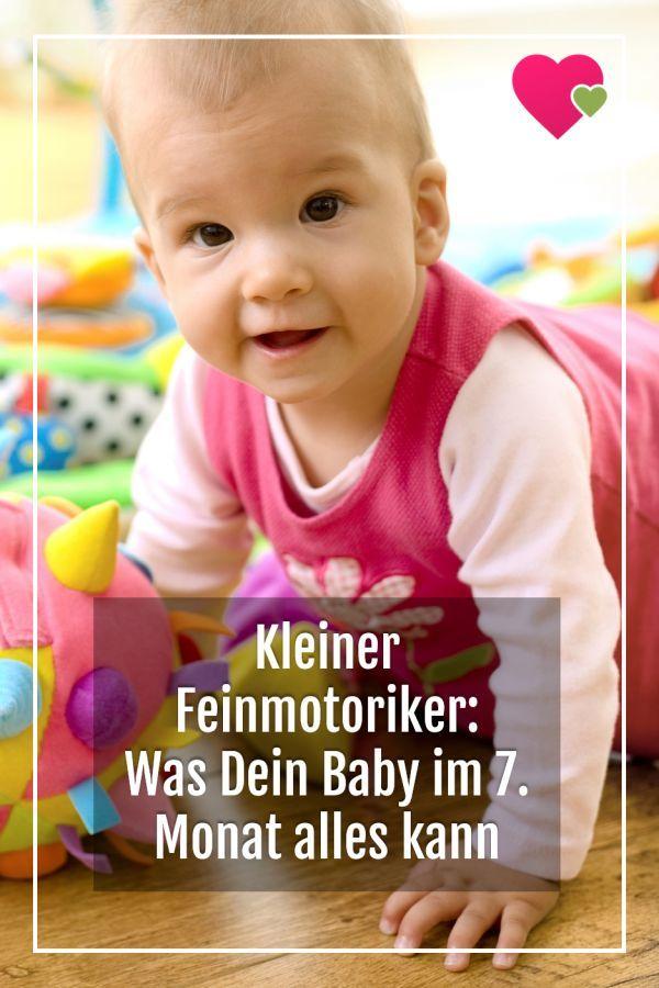 Kleiner Feinmotoriker: Was Dein Baby im 7. Monat alles ...