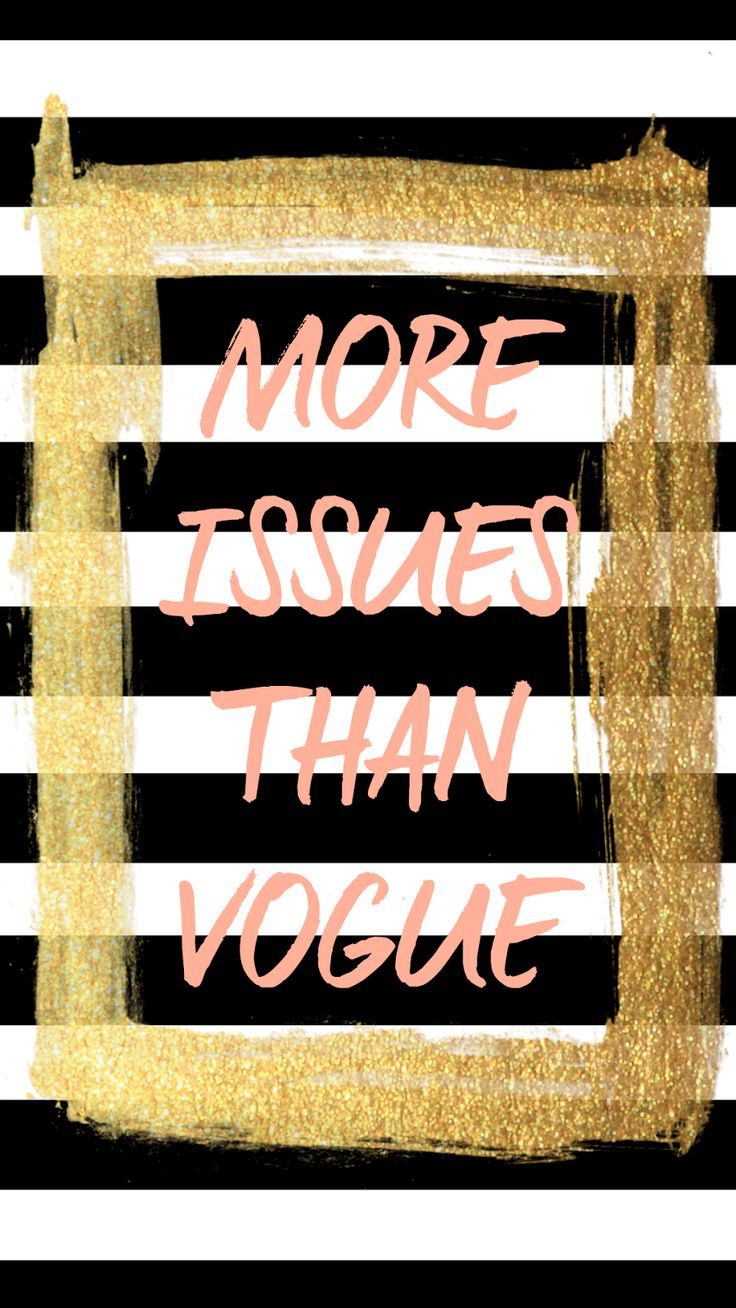 "FREE tech wallpaper 'More Issues Than Vogue"" from Glitter&Bow blog"