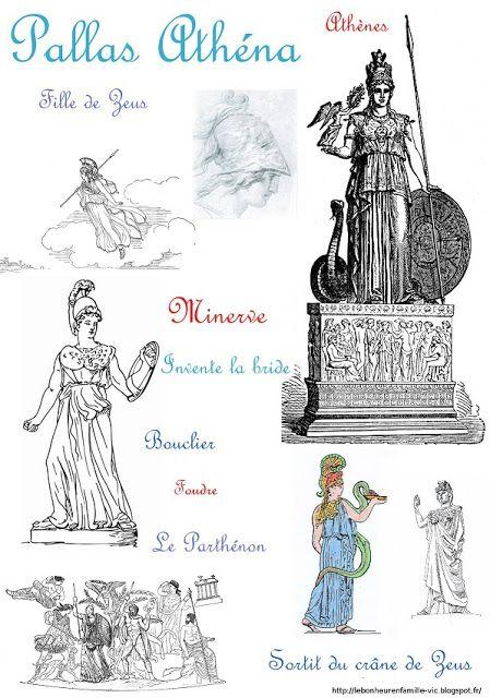 Fiches Des Dieux Grecs Dieux Grecs Mythologie Grecque Dieux