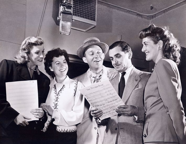 irving berlin bing crosby and the andrews sisters