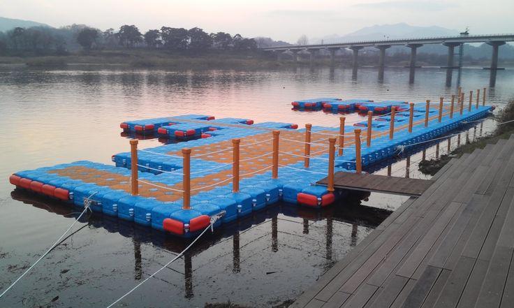 Floating Platform in Korea for Marina