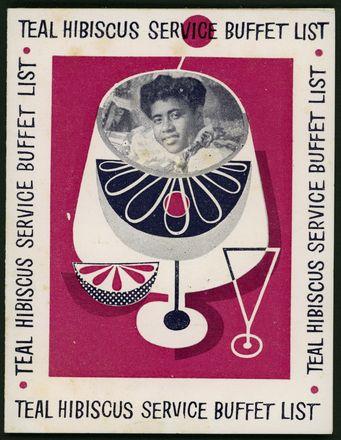 Teal Hibiscus service buffet list - 19505/60 -
