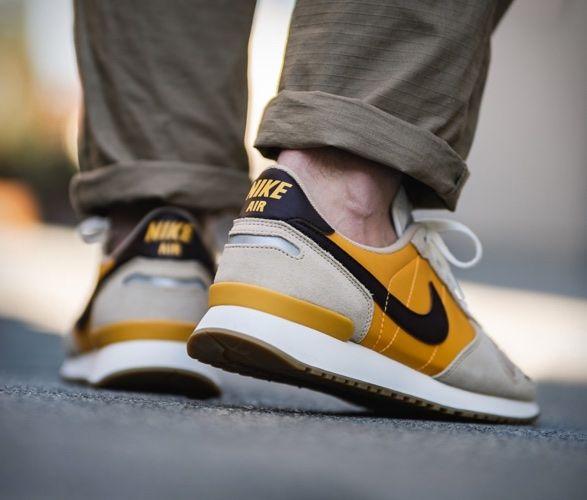 deshonesto sentar Elucidación  Nike Air Vortex Beige Yellow | Nike air, Nike, Dark brown leather