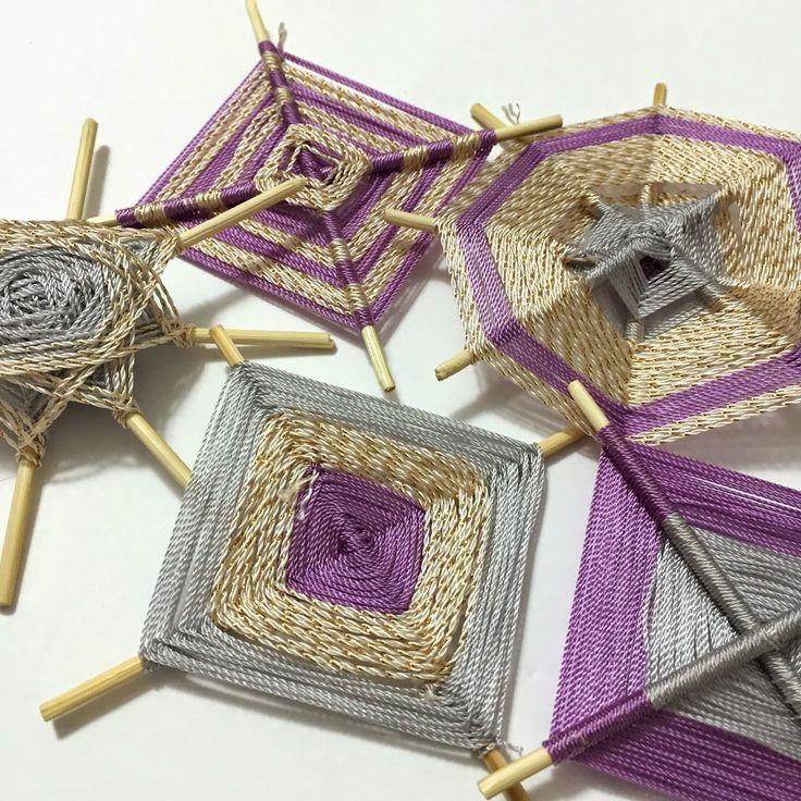 Paseando hilos: Mandalas con hilos Anchor Style Nylon tutorial