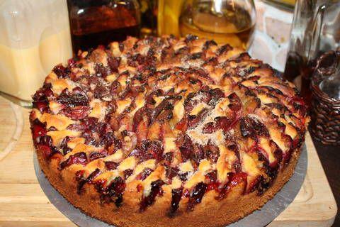 Kochbuch - Zwetschgenkuchen mit RührteigKochbuch - Zwetschgenkuchen mit Rührteig