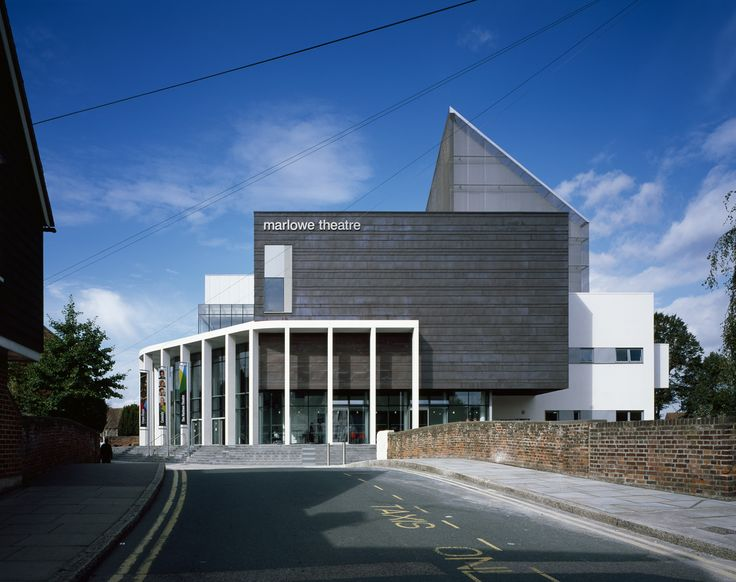 New Marlowe Theatre,Courtesy of  keith williams architects