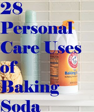 Beauty and Personal uses of Baking Soda