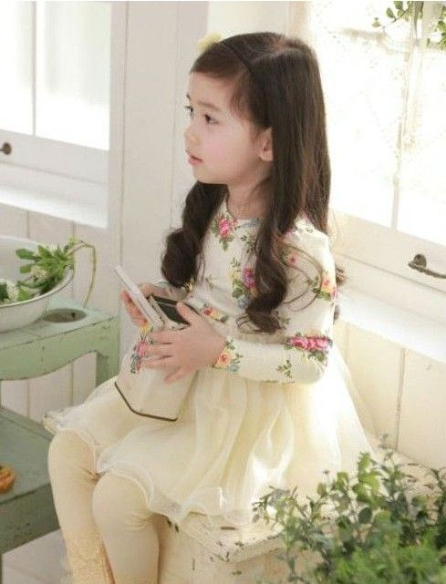 Floral Tulle Dress — Affordable funky clothes for girls and boys and cool kids accessories.