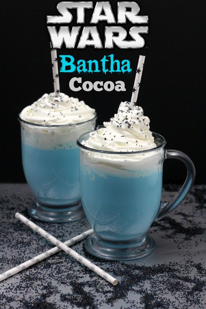 Star Wars Bantha Cocoa Recipe and The Force Awakens Trailer - My Thoughts, Ideas, and Ramblings