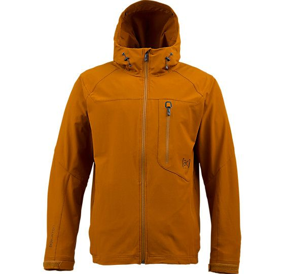 [ak] Rotor Softshell Snowboard Jacket. DRYRIDE Plated Softshell™ Fabric DWR Coating