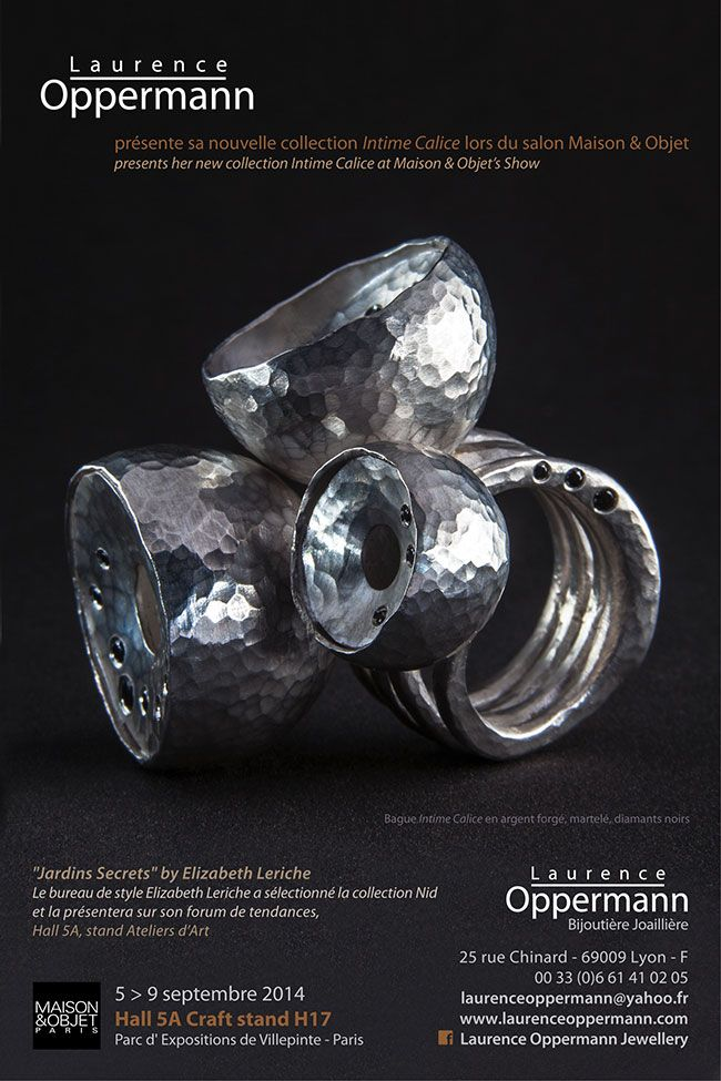 Laurence Oppermann - Salon & Objet, paris 5-9 sept 2014