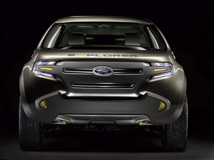 New Ford explorer.............gotta change my chevy man to a ford man. I LOVE this black one:)
