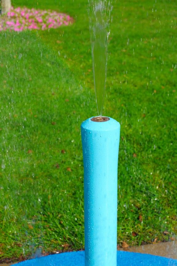 Small Rain Stick For The Portable Splash Pad That You Just Attach A Garden  Hose To
