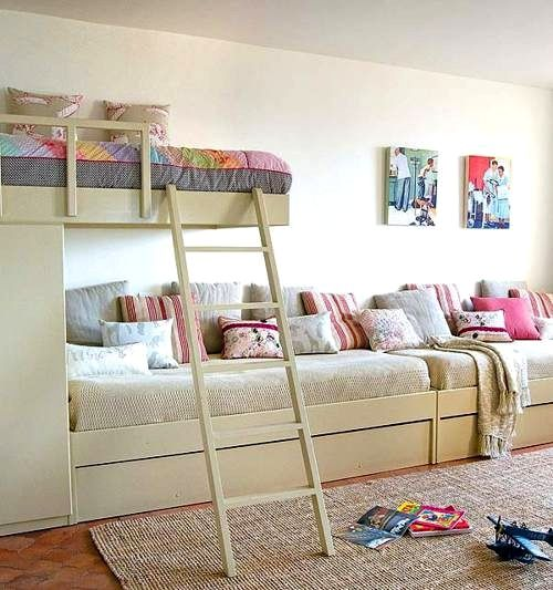 lots of great ideas for fitting three kids in one room