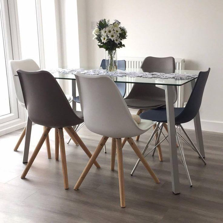 Nisha's Beautiful mix and match Profile Table with Stylo and Ida Chairs