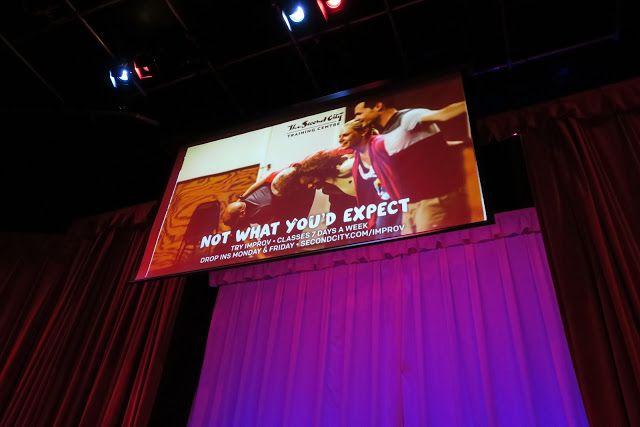Living Rootless: Toronto: Second City Comedy Club