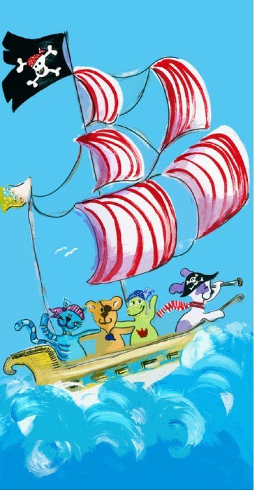 Pirate Art from $39.99 | www.wallartprints.com.au #PirateArtForKids #KidsRoomArt
