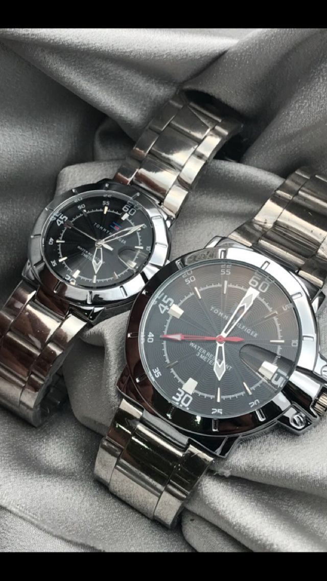1150/- Free delivery in India Tommy Hilfiger couple watches