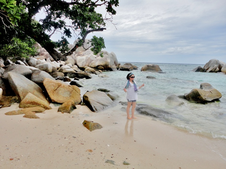 a beautiful belitung island