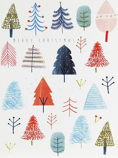 Now we are in December Print & Pattern will be going full steam ahead on Christmas  design. I'll be posting the various cards and wrap I ha.