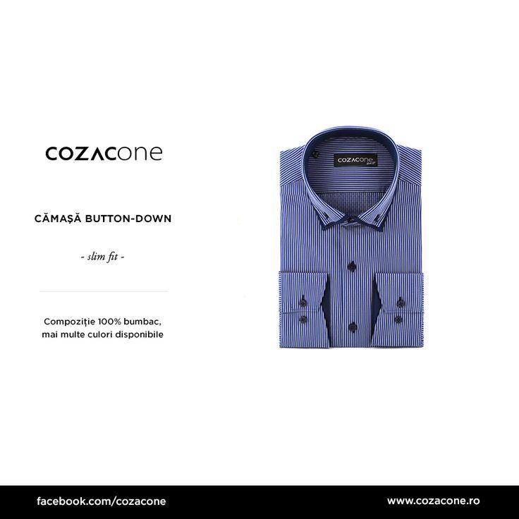 O cămașă button-down cu personalitate? Nu mai căuta - o găsești aici: http://www.cozacone.ro/produse/detalii/camasa-button-down-contrast/
