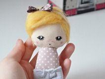 Małgorzata Kołaczyńska-Strzelecka, Zabawkarstwo,  http://polandhandmade.pl #polandhandmade, #doll, #pocketdoll,