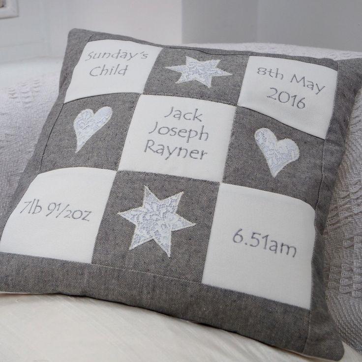 Grey Memory Cushion