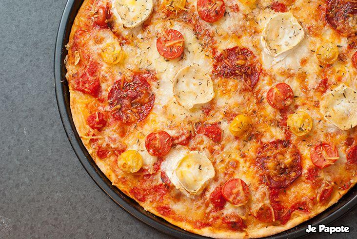 Pizza chorizo chèvre
