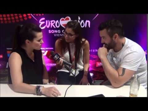 Interview with Marta Jandová & Václav Bárta from the Czech Republic - YouTube Eurovision 2015 Hope Never Dies