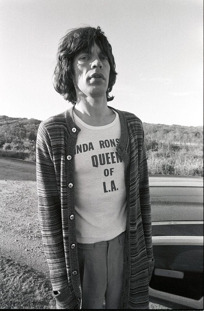 Mick Jagger, Montauk, USA, 1977, Chris Makos