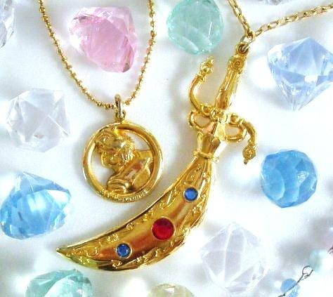SAILORMOON セーラータリスマンスペースソード    (Sailor Talisman Pendant)    Very cool replica of Sailor Uranus' Space Sword from the Sailor Moon anime and manga!