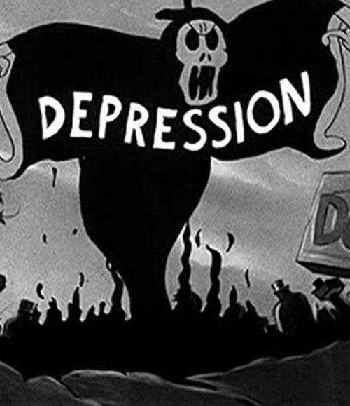 Depressed?That's rotten.
