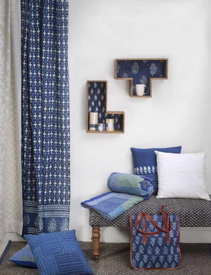 In Case I Decide To Go With Blue For My Inspiration Room