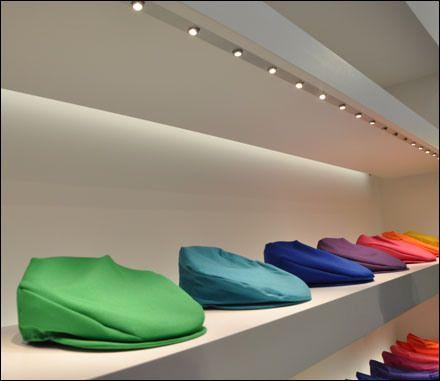 Rainbow of Kangol Caps