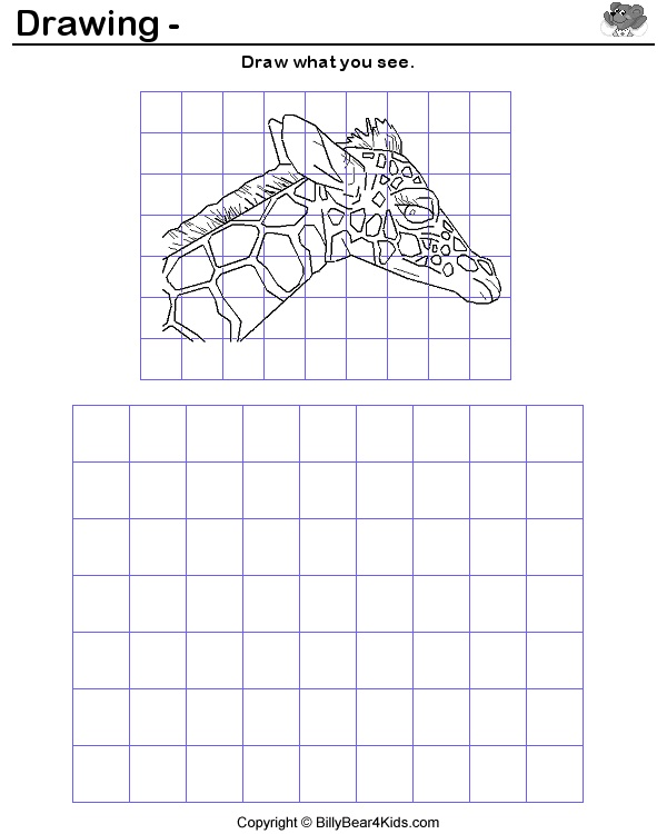 *For Mental Health Activity Group?  Great intro lesson to drawing with grids ! It can help to label letters on top (A,B,C...) and numbers on the side(1,2,3...).