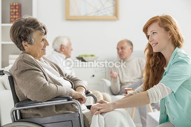 Search For Stock Photos Of Social Worker Elderly On Thinkstock Nursing Home Care Senior Care Health Care Assistant