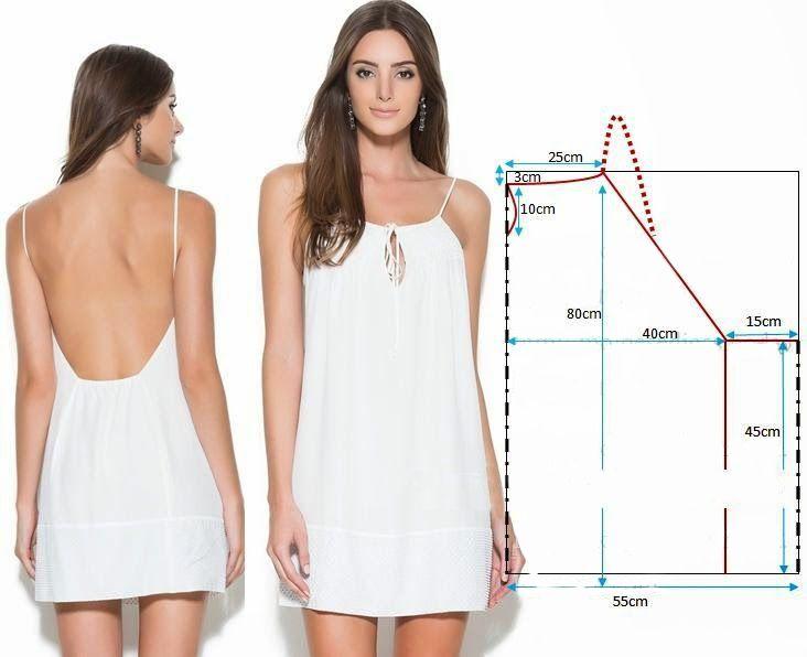 простые выкройки платьев своими руками