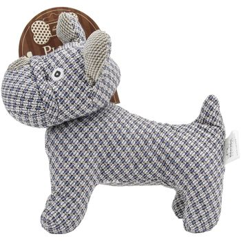 Nandog My BFF Woven Plush Toy-Dark Blue Bulldog