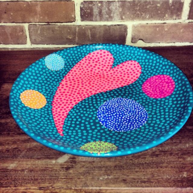 Platos en cerámica pintados a mano!