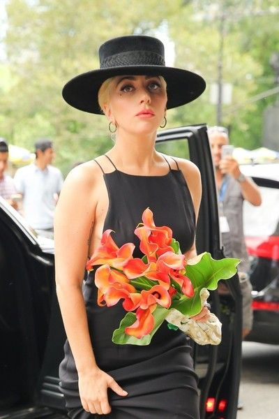 Lady Gaga is seen out and about in New York City.