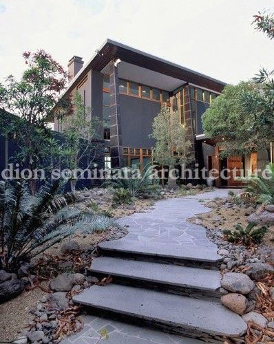 Landscaping for a new home in Mt Nebo #Brisbane by Dion Seminara Architecture