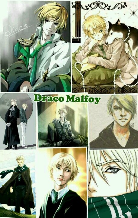 Draco malfoy collage Harry potter fanfiction, Harry