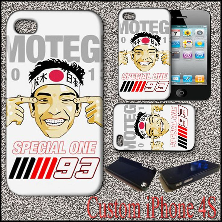 New Marc Marquez MM93 Motogp Motegi Repsol Honda Team Cover Case For iPhone 4