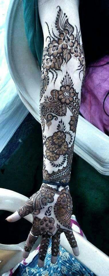 Arabic style Mehndi