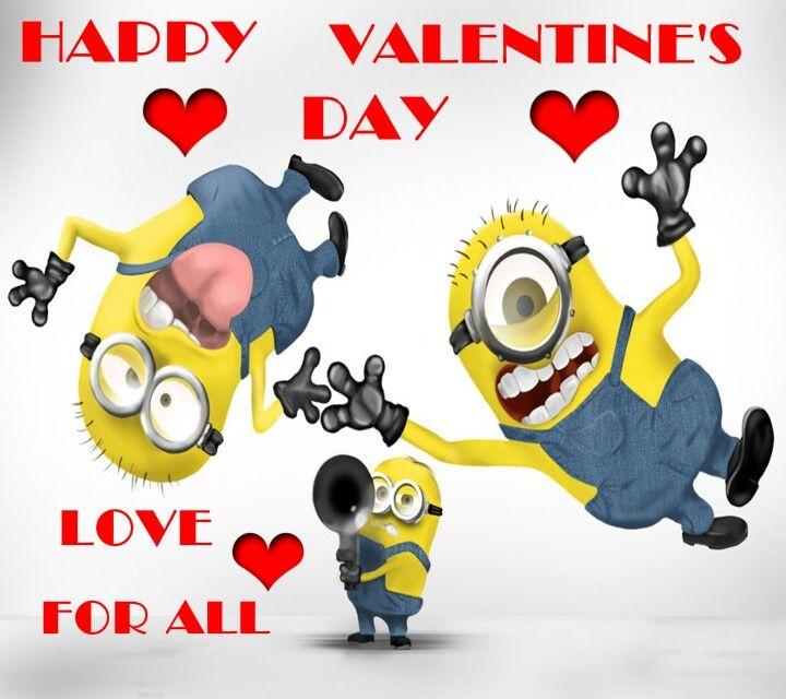 Valentines Day Minions Pinterest Valentines